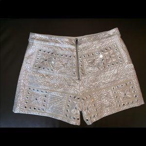 Zip-up shorts from Alice + Olivia.